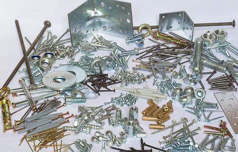 metalo prekyba tvirtinimo elementai